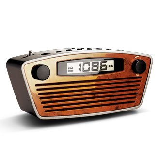 Retro Rectangle Radio