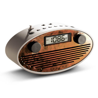 Retro Oval Radio