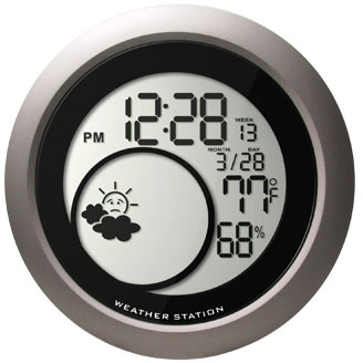 Wall-Mounted Weather Station