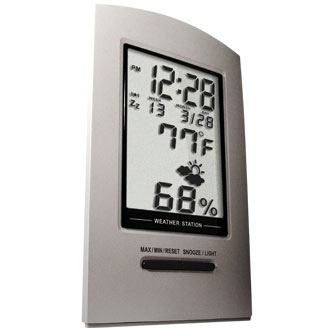 Desktop Weather Station silver