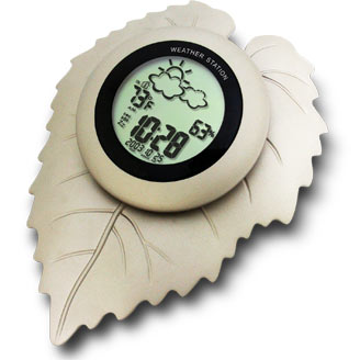 Leaf Weather Station silver