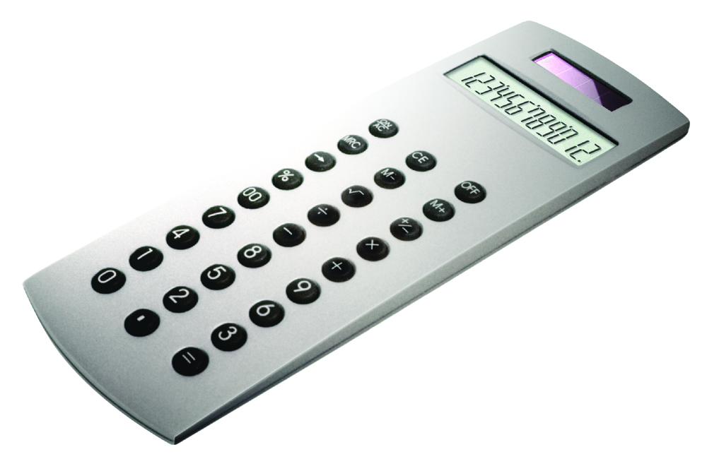 Die cast metal calculator
