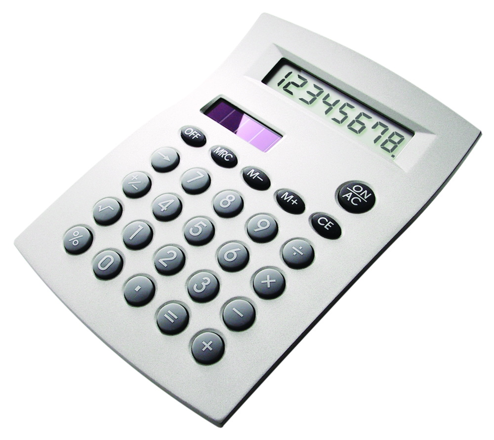 Desktop metal calculator
