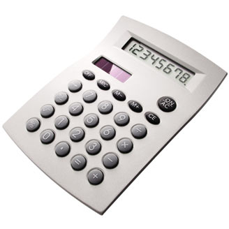 Metal Desktop Calculator
