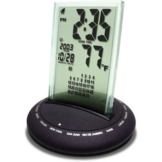 18-Zone Time -Glass -black