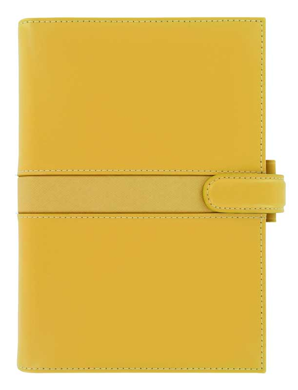 Filofax Personal Piazza in Sunflower