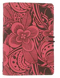 Filofax Pocket Botanic in Electric Pink