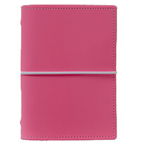 Filofax Pocket Domino in Dark Pink