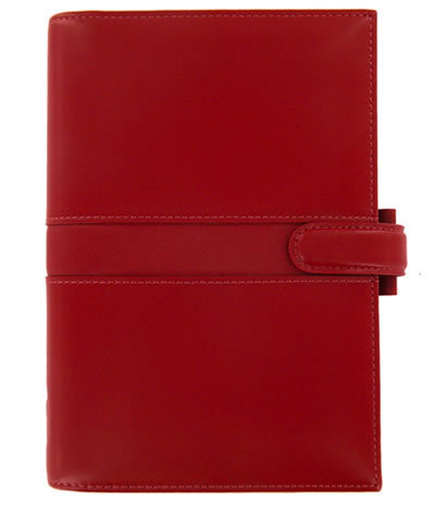 Filofax Pocket Piazza Organizer in Venetian Red