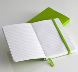Ecosystem Flexi Ruled Journal in Kiwi Small