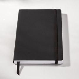 Ecosystem Flexi Ruled Journal  in Onyx Medium
