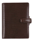 Filofax Pocket Topaz in Brown