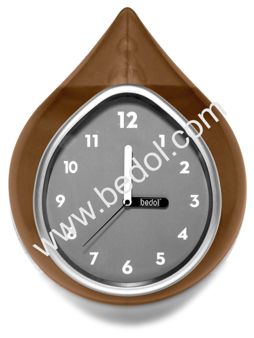 The Bedol Wall Water Clock Gold