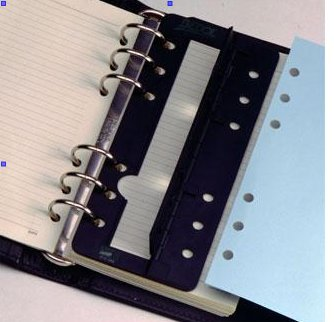 6 inch 6 hole portable hole punch