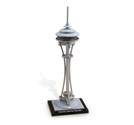 Seattle Space Needle Lego Set