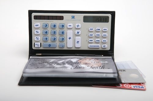 Shop buxton women's checkbook clutch wallet with calculator one.