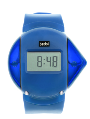 Powered By Water The Bedol Water Watch Blue