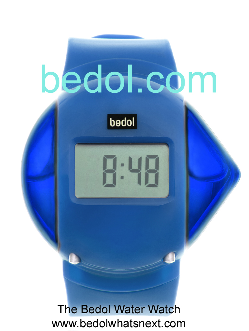 Eco-Friendly Bedol Water Watch Blue