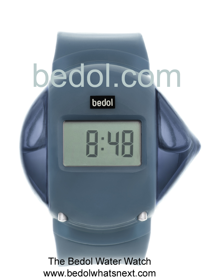 Eco-Friendly Bedol Water Watch Gray