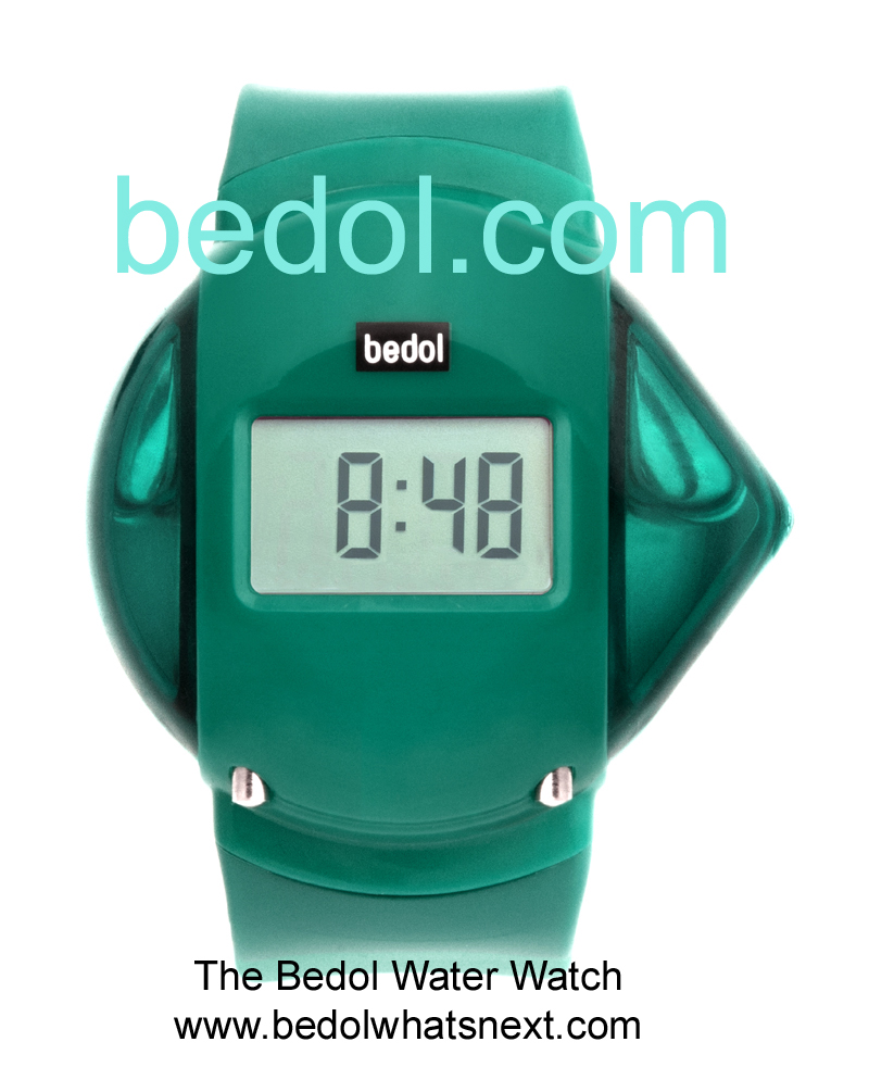Eco-Friendly Bedol Water Watch Teal