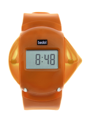 Powered by Water - the Bedol Water Watch Orange
