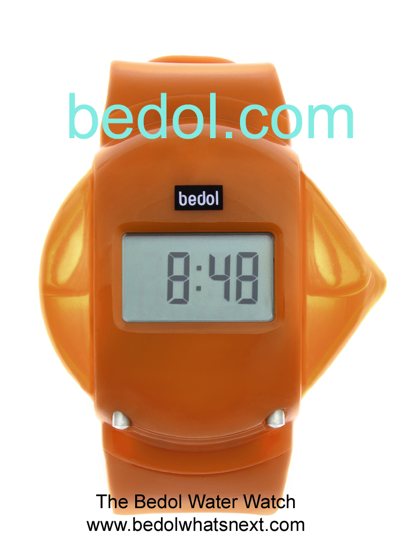 Eco-Friendly Bedol Water Watch Orange