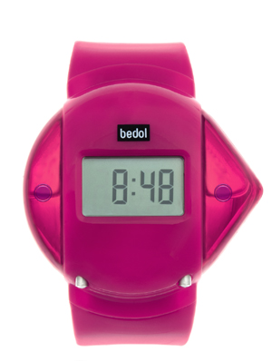 Powered by Water - the Bedol Water Watch Pink