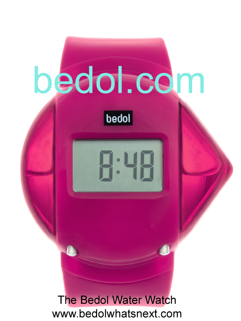 Eco-Friendly Bedol Water Watch Pink