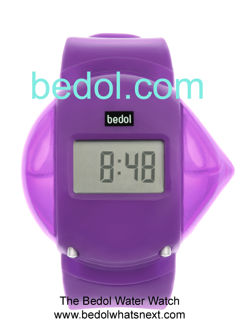 Eco-Friendly Bedol Water Watch Purple