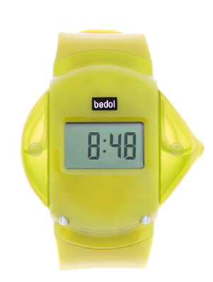 Powered by Water - the Bedol Water Watch Yellow