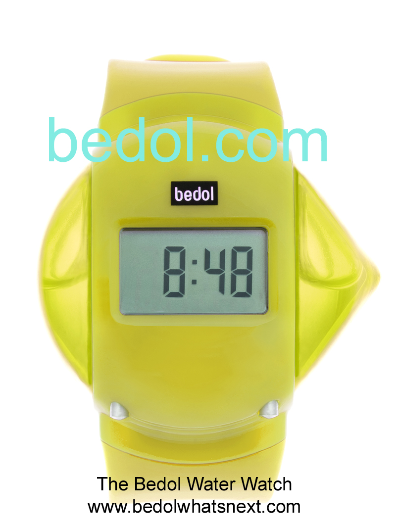 Eco-Friendly Bedol Water Watch Yellow